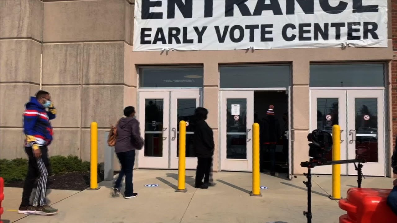 US swing states grapple with vote safety, security