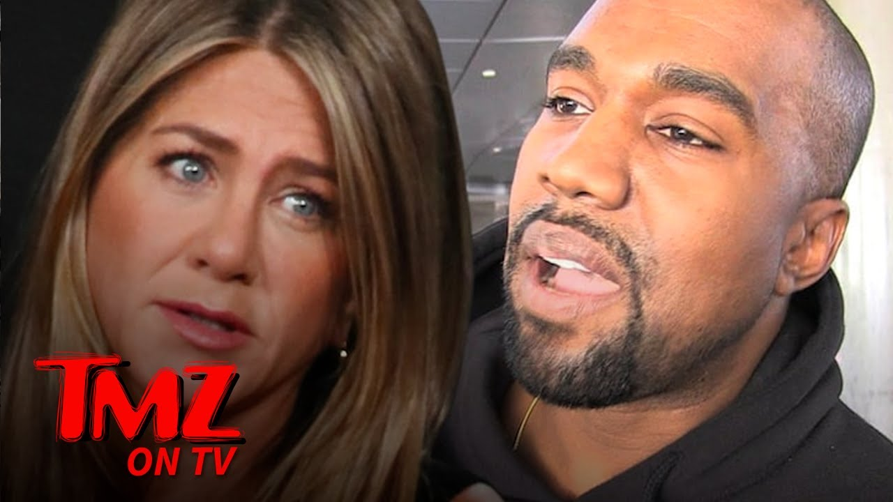 Jennifer Aniston Says Don't Vote Kanye West, 'It's Not Funny' | TMZ TV