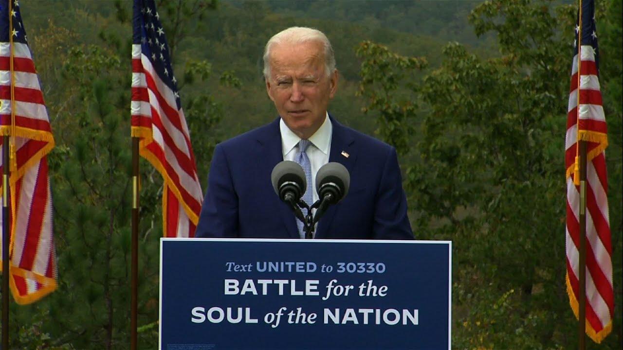 Joe Biden goes on offense, campaigns in Georgia