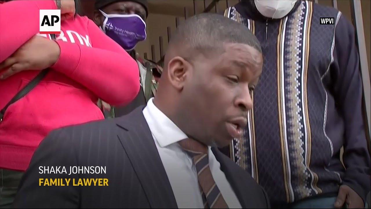 "Lawyer: Shooting of Black man in PA ""unjustified"""