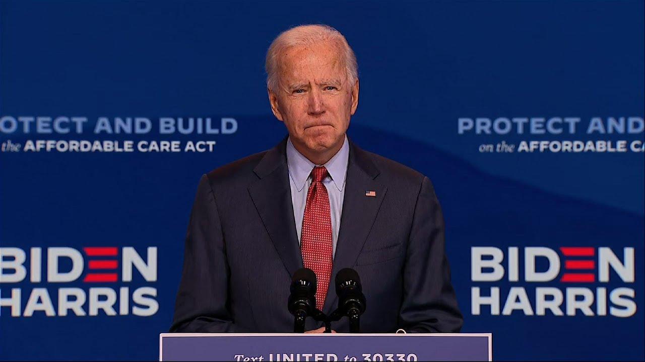 Biden: Trump has just 'given up' on fighting virus