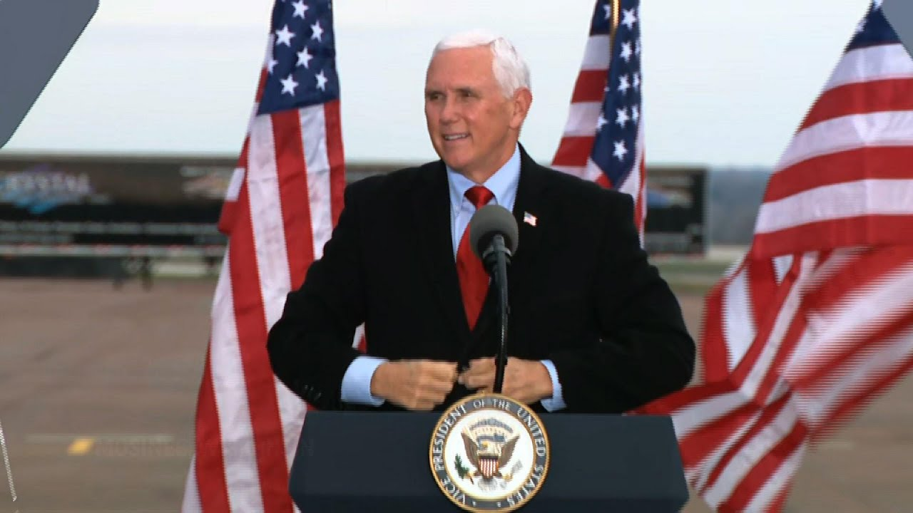 Pence: Road to victory goes through Wisconsin