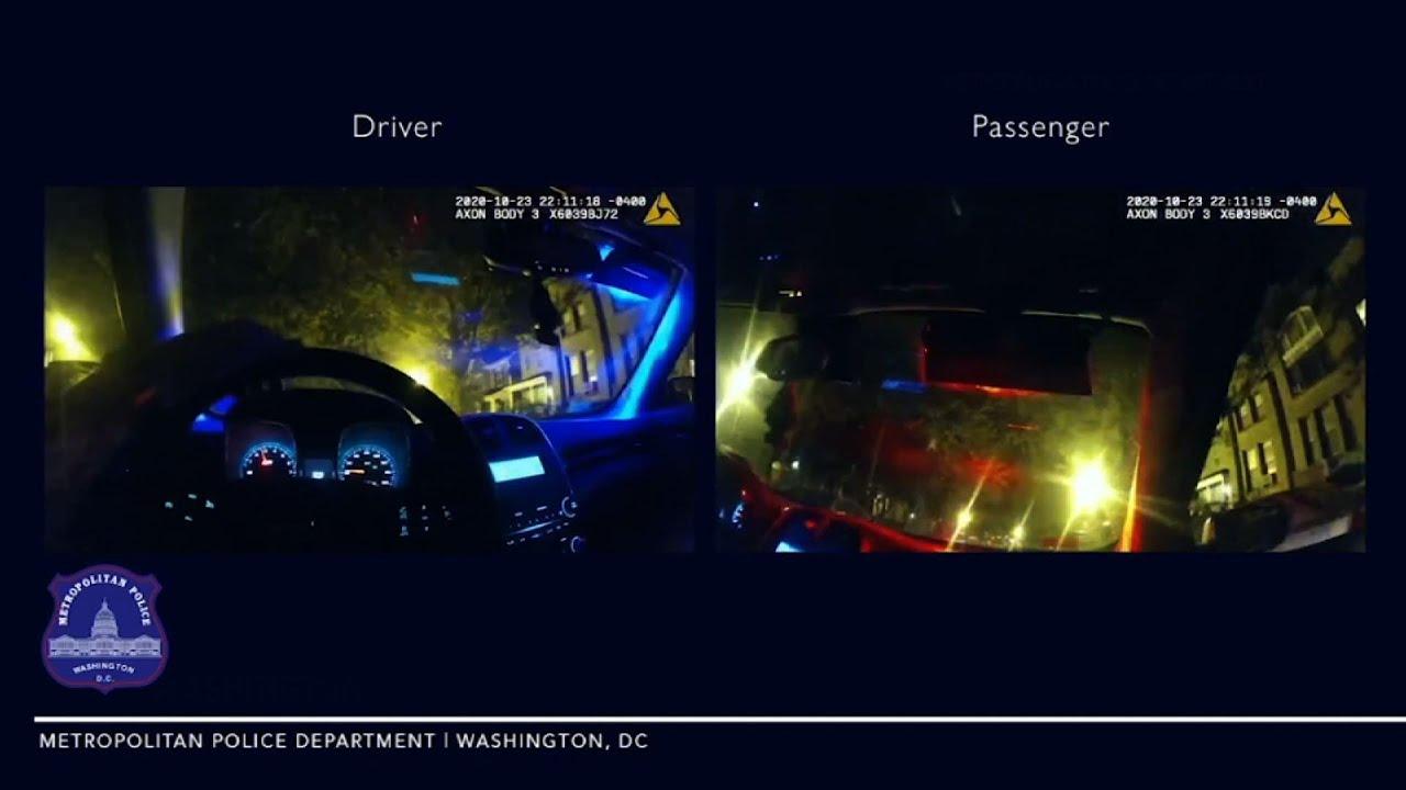 DC police body cameras show fatal scooter crash