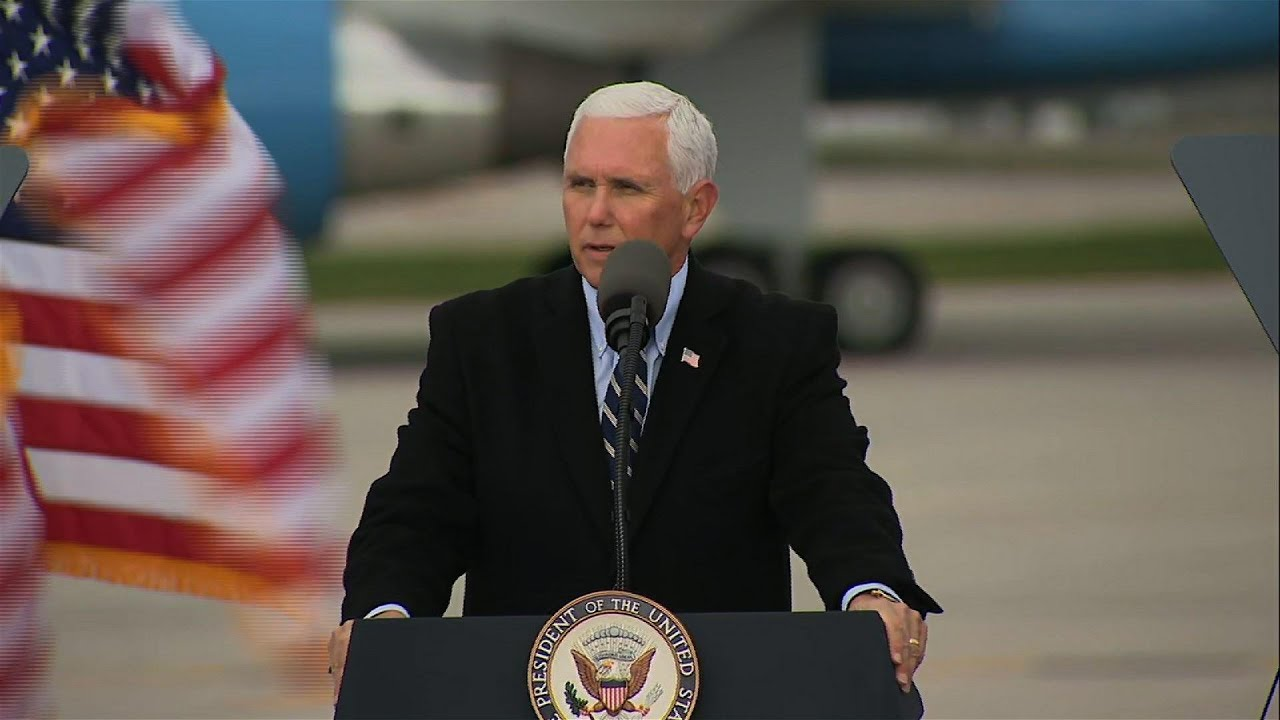Pence touts the 'great American comeback' in Iowa