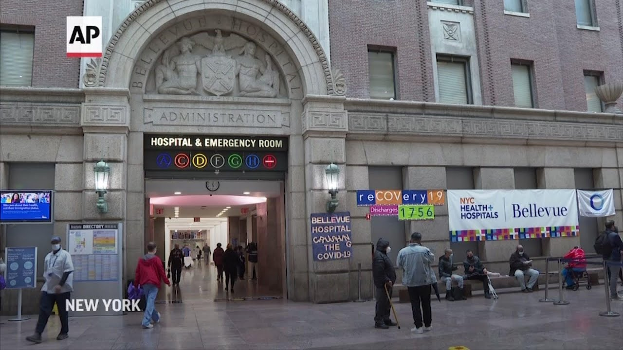 NYC hospitals prepared for COVID resurgence