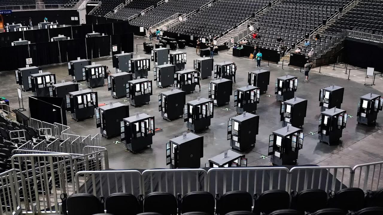 Arenas find new life as safer options for voting