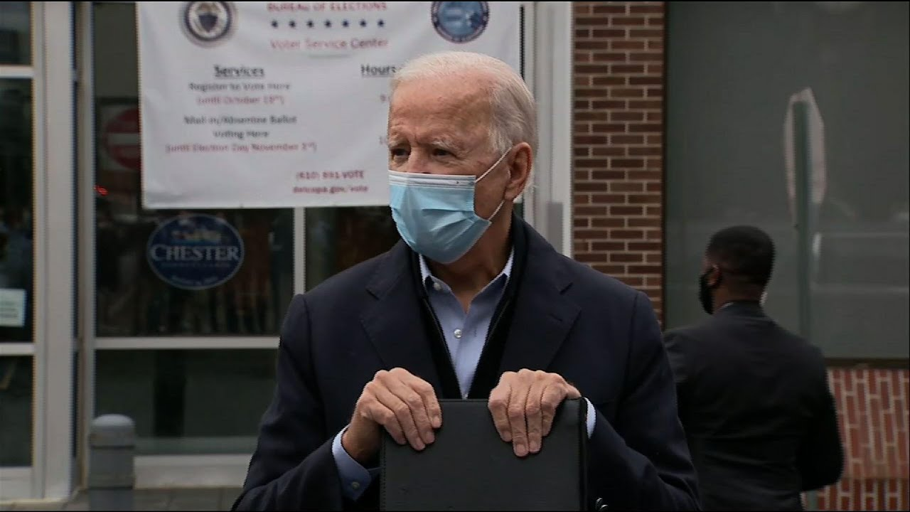Biden: Barrett ceremony should follow virus rules
