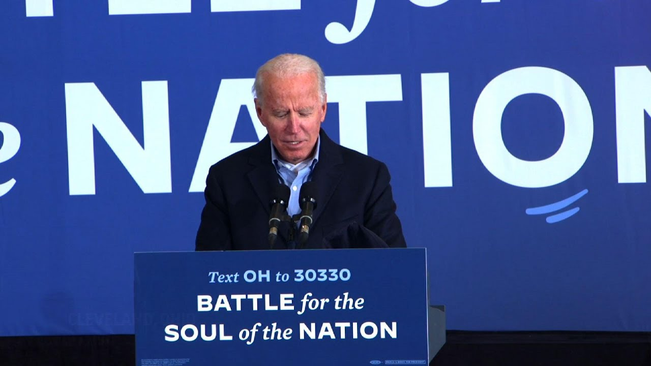 Biden slams Trump for comments about COVID, Fauci