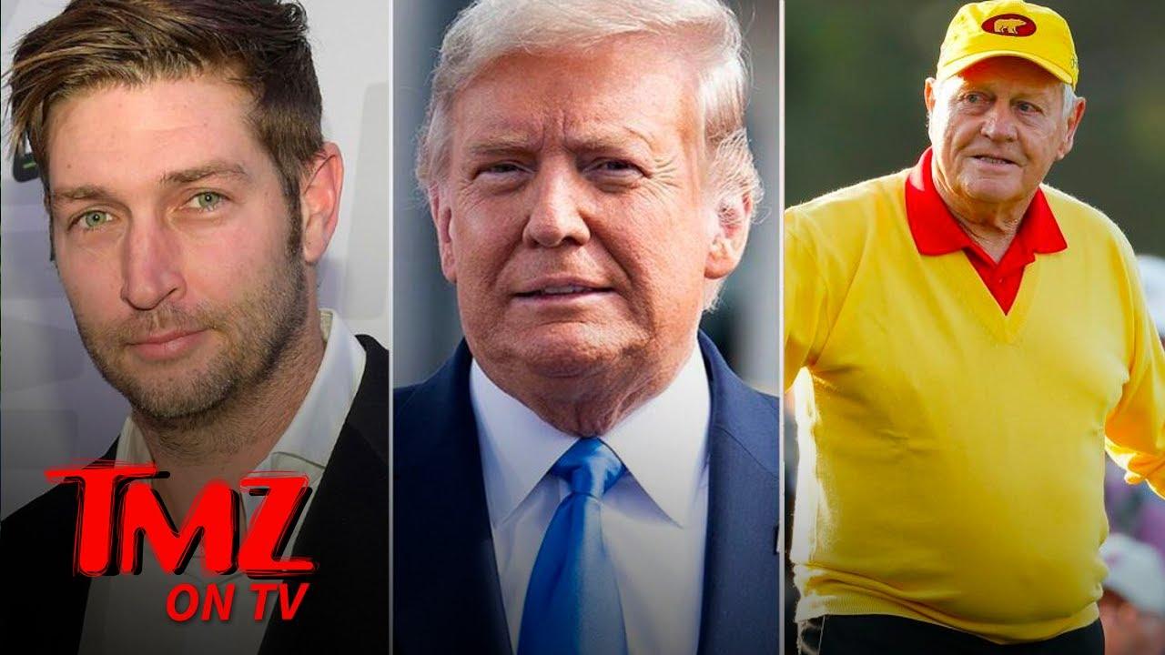 Golf Legend Jack Nicklaus, Former NFL Star Jay Cutler Endorse Trump | TMZ TV