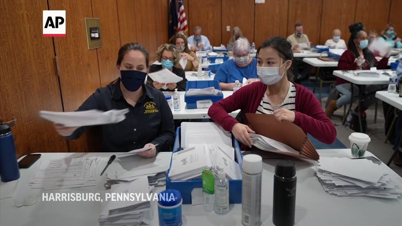 Mail-in ballots sorting, counting in PA underway
