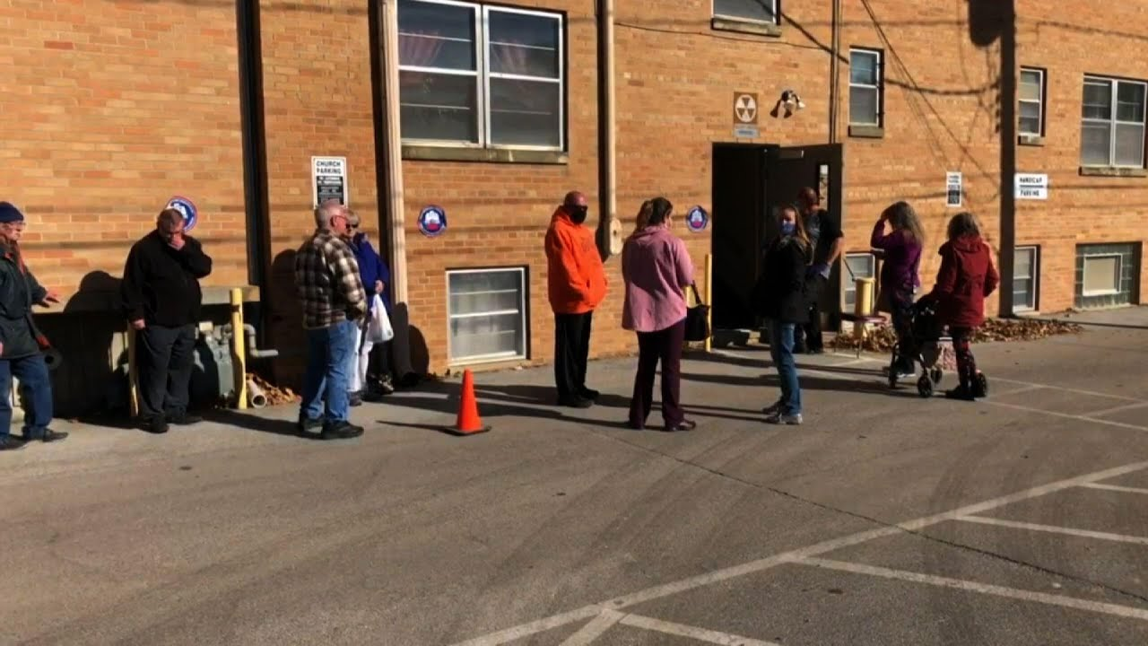 Iowa polling places busy on Election Day