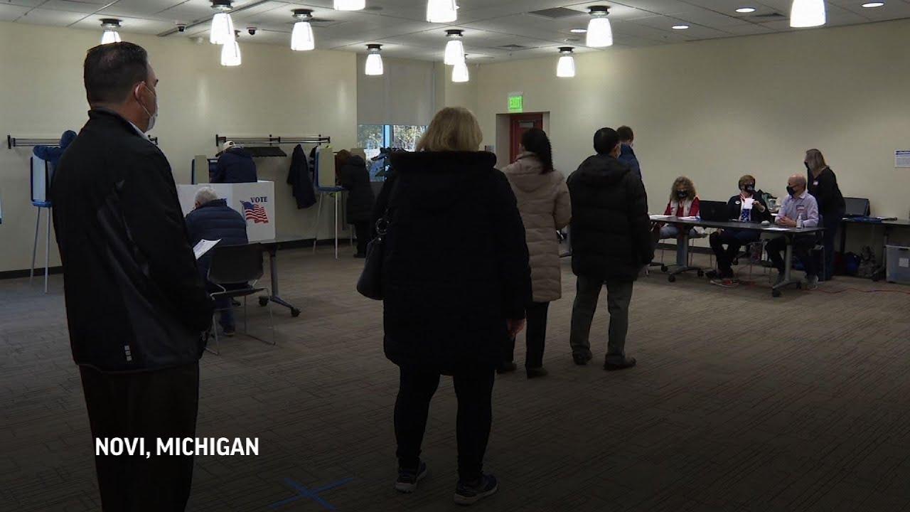 Voters in battleground states weigh in on candidates
