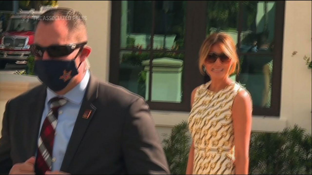 First lady Melania Trump votes in Florida