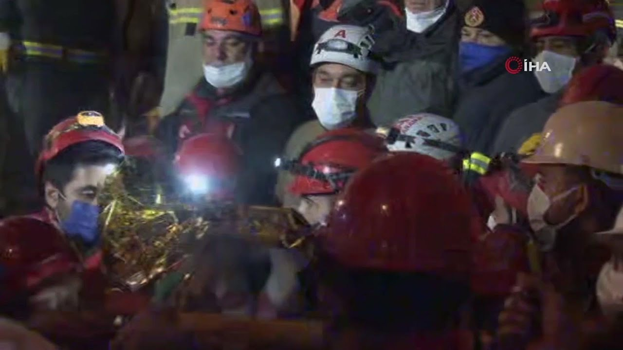 Teenage girl rescued from quake rubble in Izmir