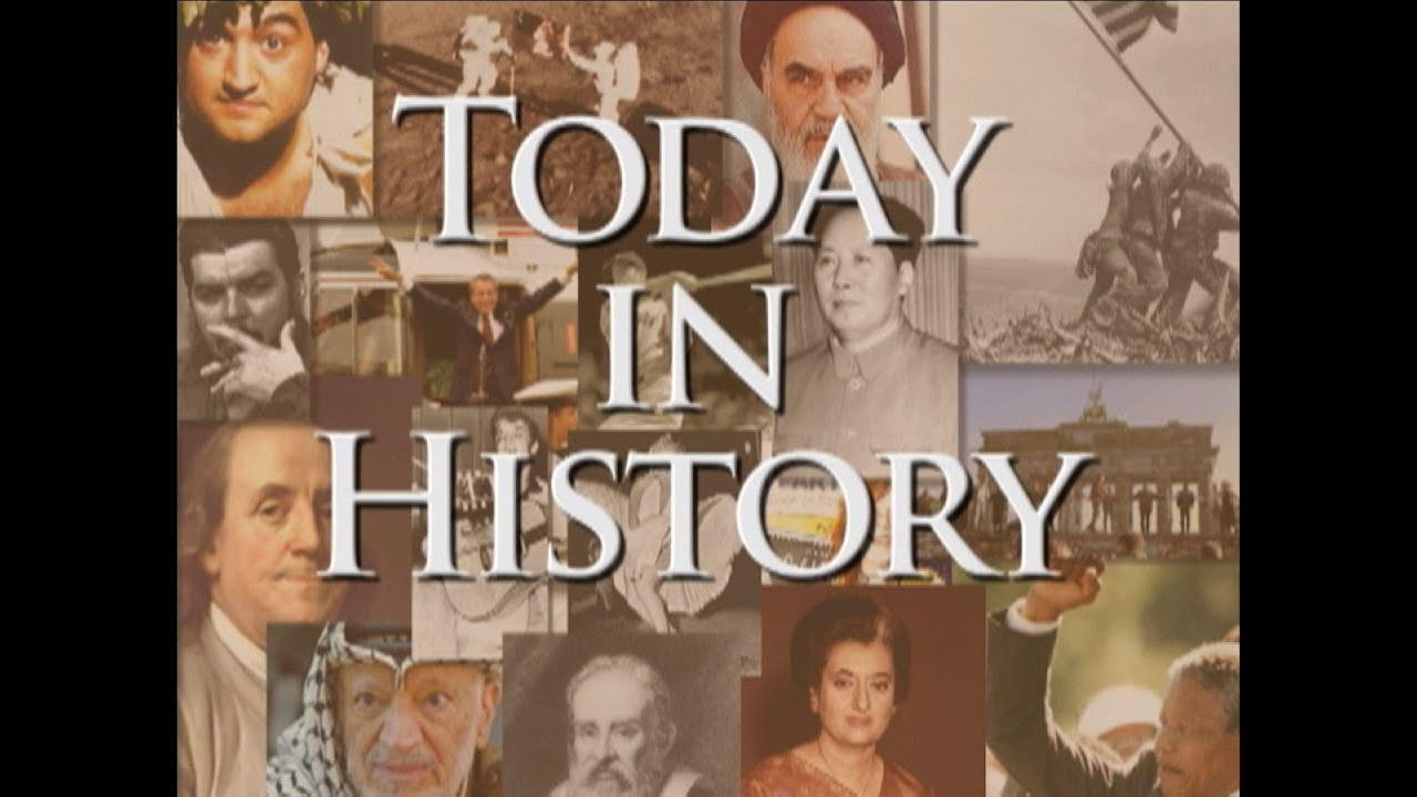 Today in History for November 3rd