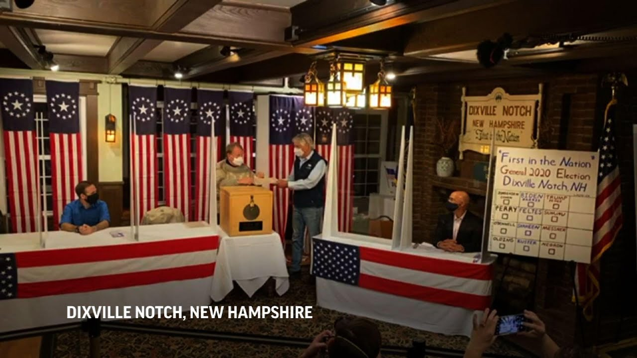 Biden sweeps vote in tiny New Hampshire town