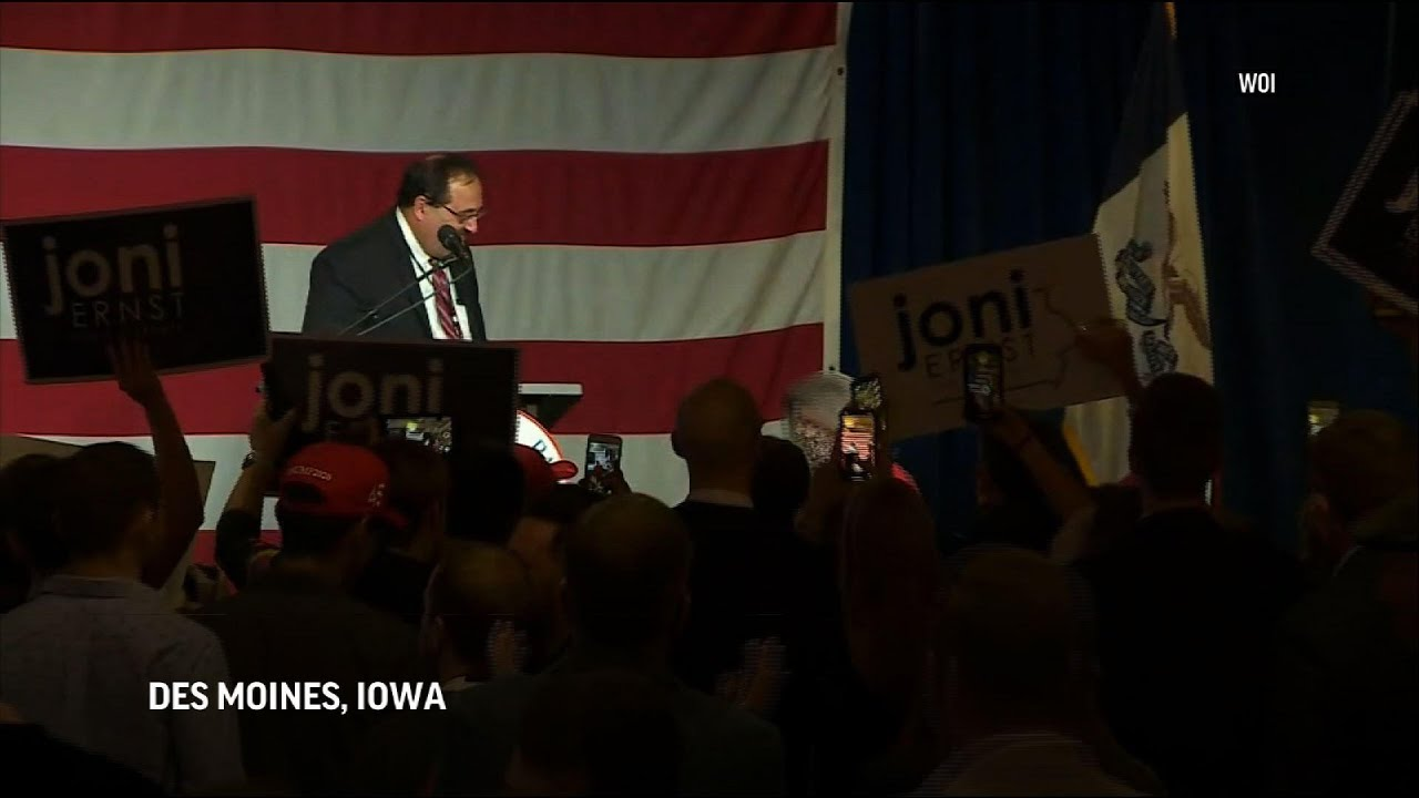 Iowa re-elects Republican Senator Joni Ernst