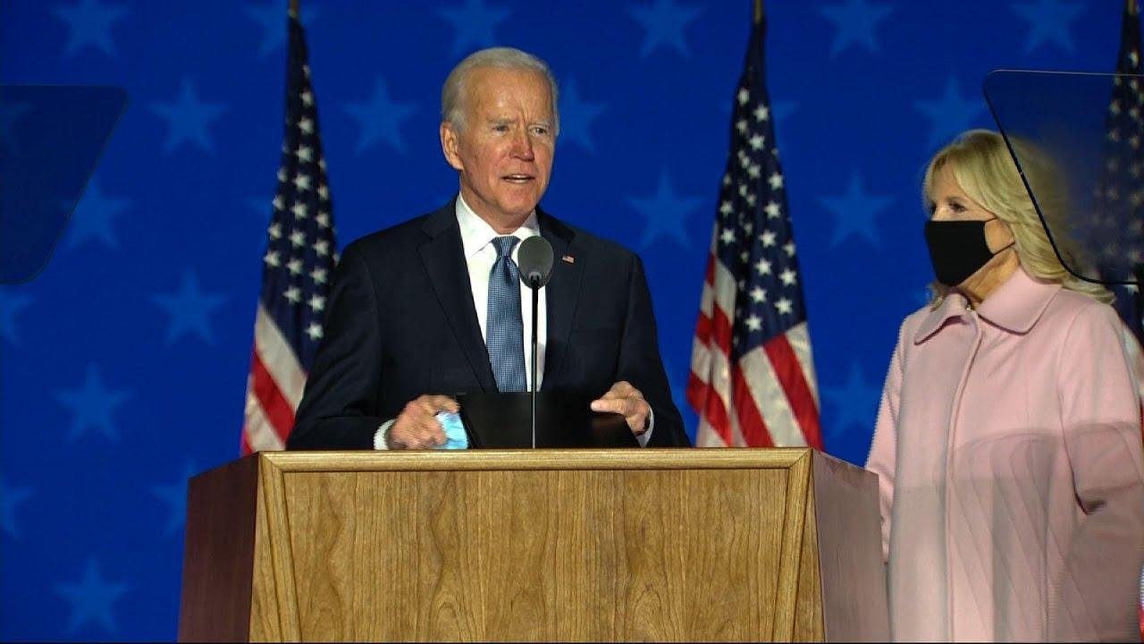 Biden tells supporters to 'keep the faith'