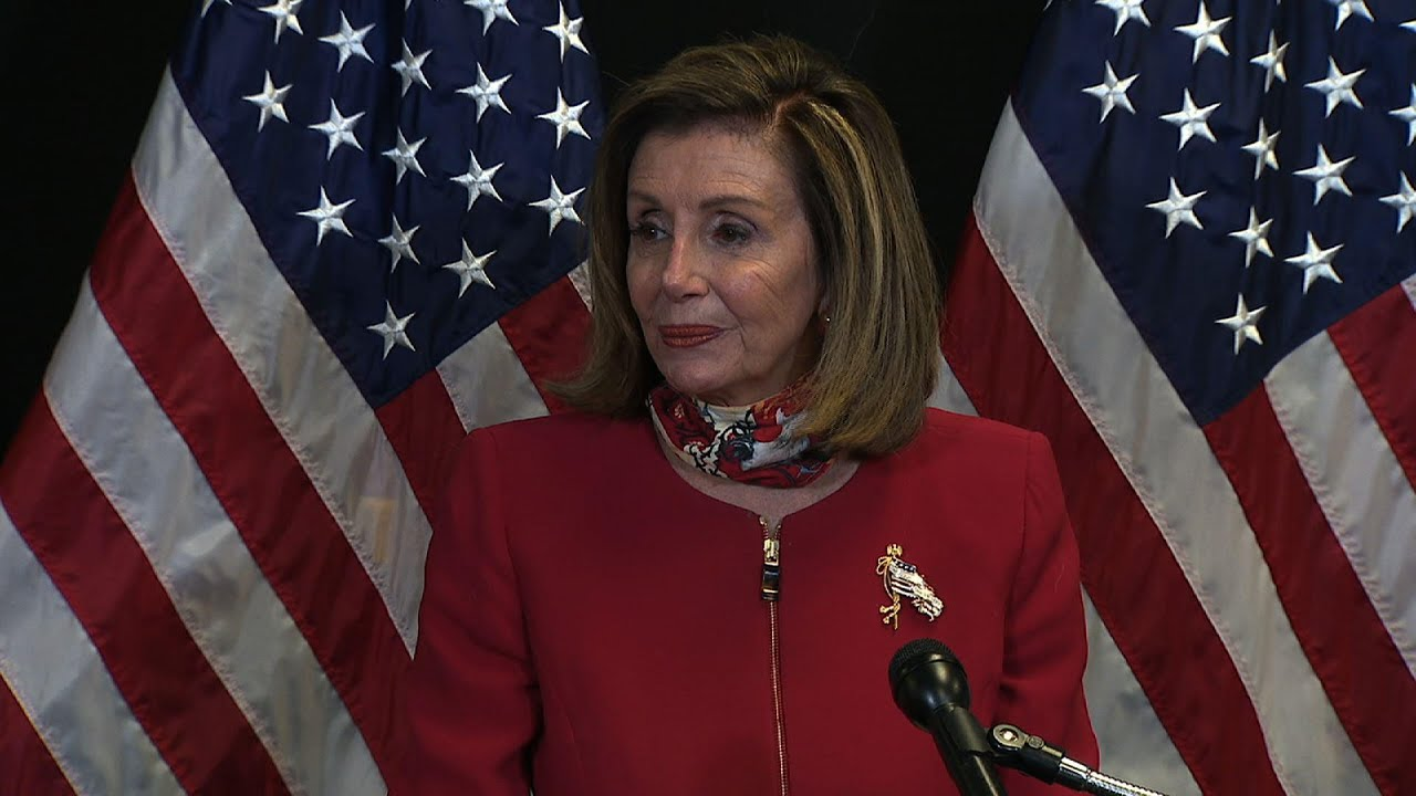 Pelosi praises Dem wins in the House, mum on Biden