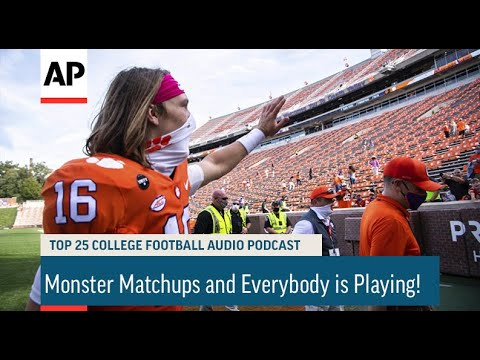 Monster Matchups and Everybody is Playing! | AP Top 25 Podcast
