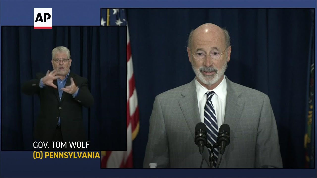 PA Governor calls Trump move 'simply disgraceful'