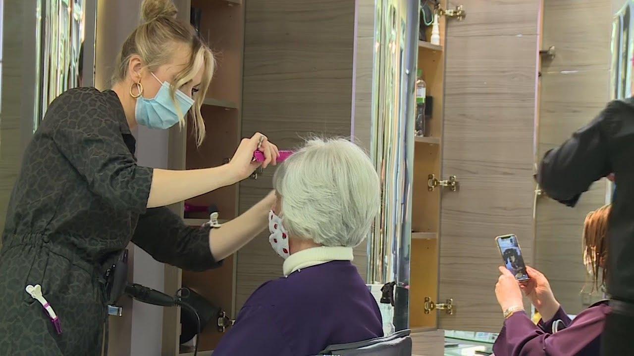 London hair salon faces huge demand pre lockdown