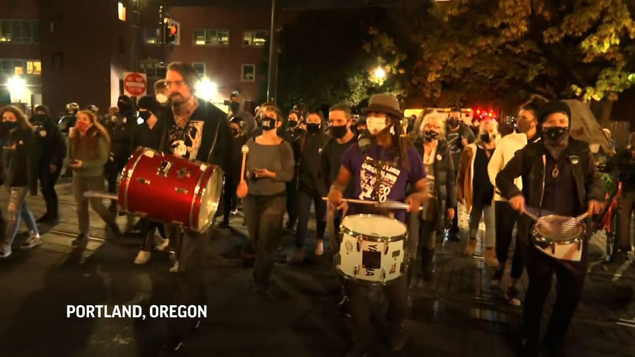 Election results bring out protests across U.S.