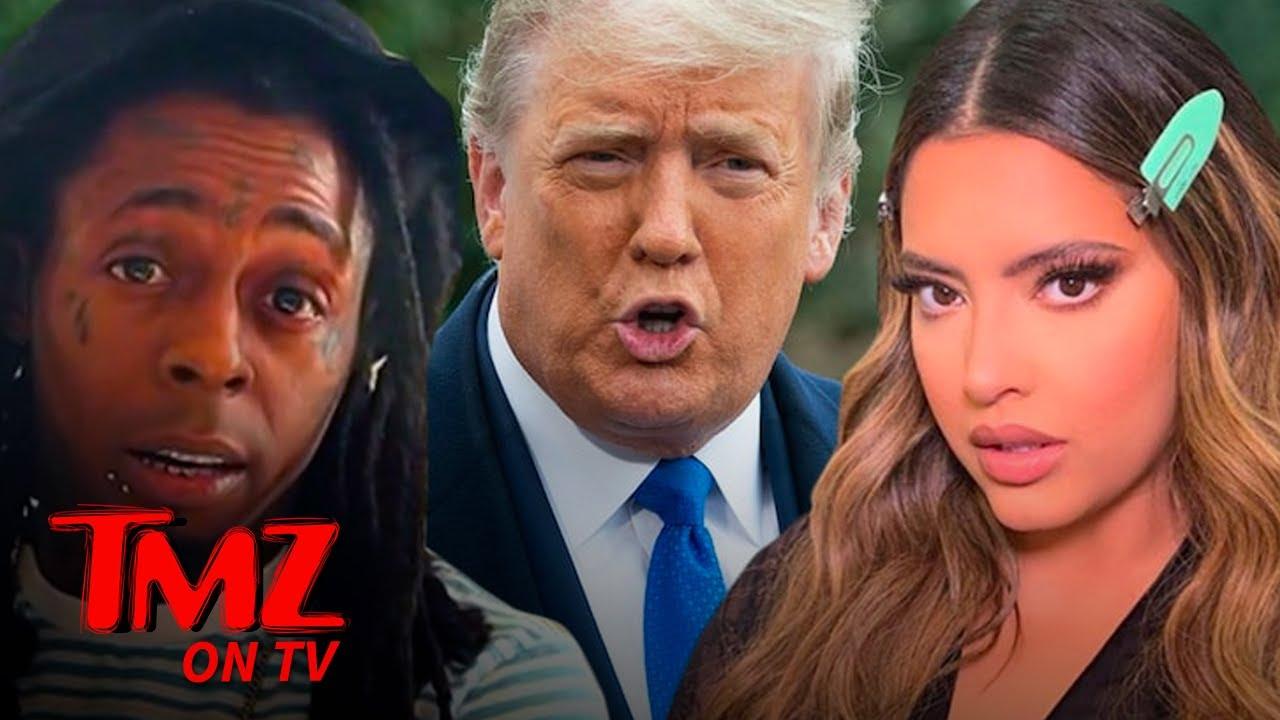 Lil Wayne's Girlfriend Dumps Him, Reportedly Over Trump Endorsement | TMZ TV