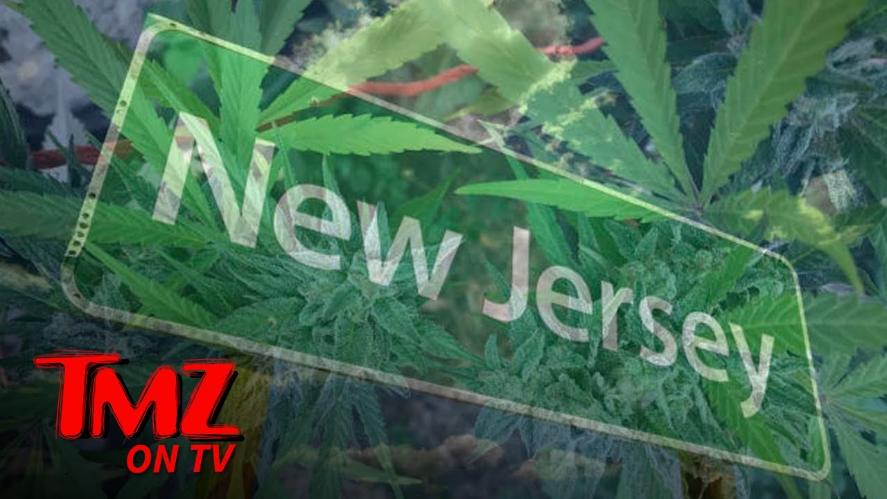 New Jerseyites Google 'How to Roll a Joint' After Vote Legalizes Weed | TMZ TV