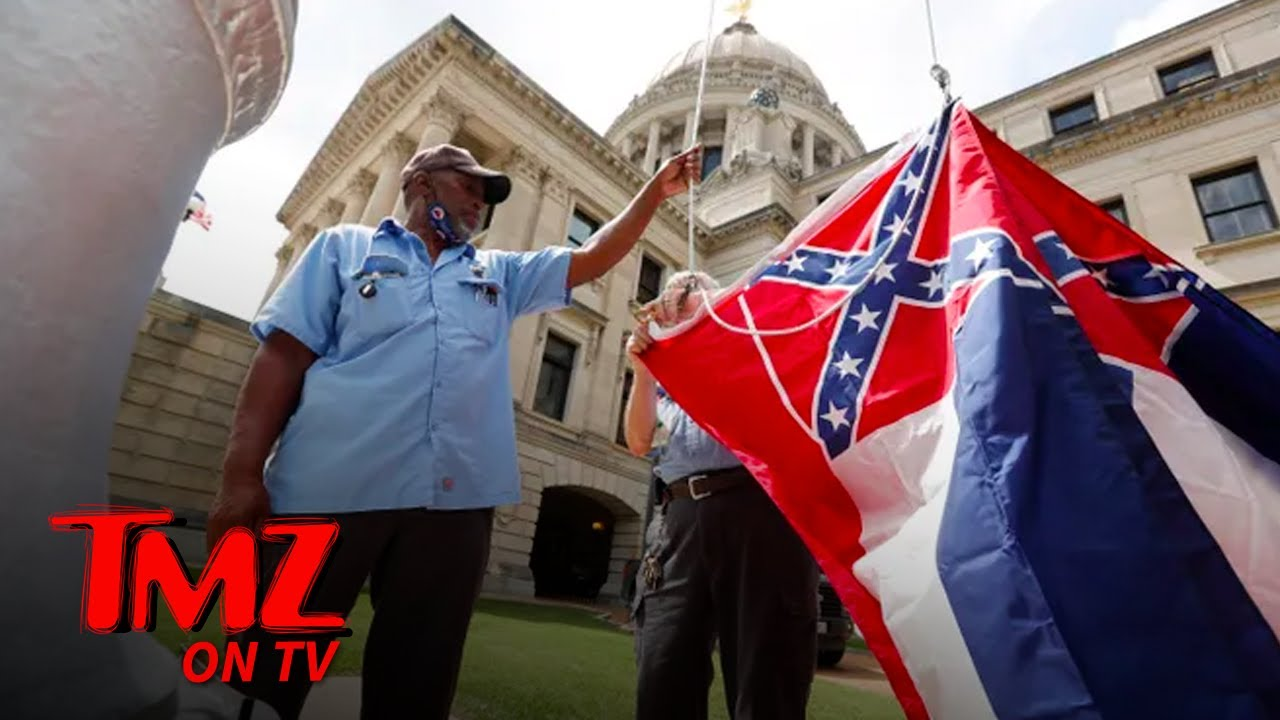 Mississippi Votes To Replace Confederate Themed State Flag | TMZ TV