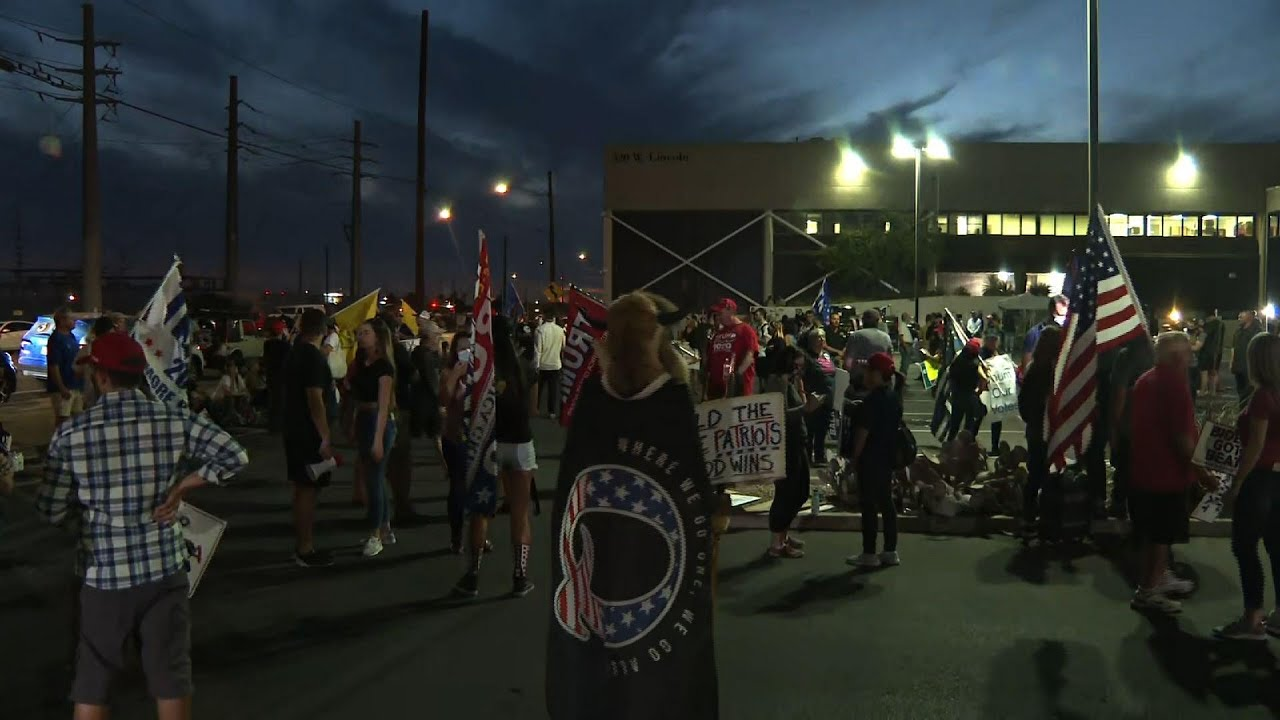 Phoenix protesters want full, fair vote count