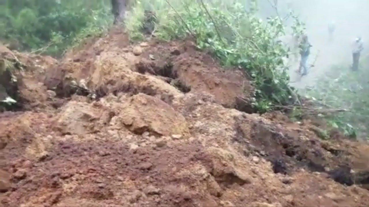 Eta leaves floods, mudslides in Central America