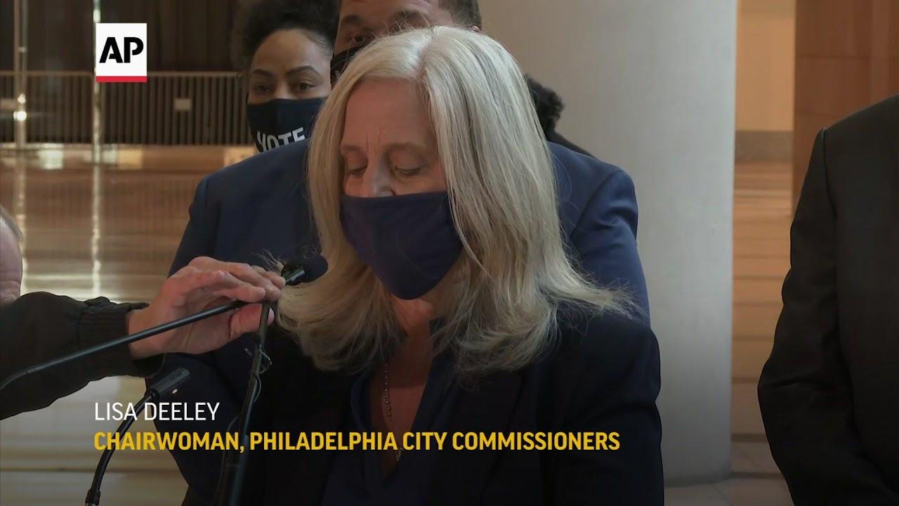 Philadelphia has 40,000 ballots to count