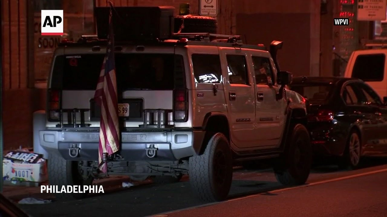 Men with guns arrested near vote count in Philly