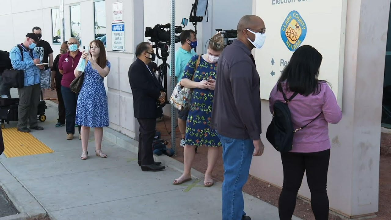 Nevada voters cope with ballot issues amid count