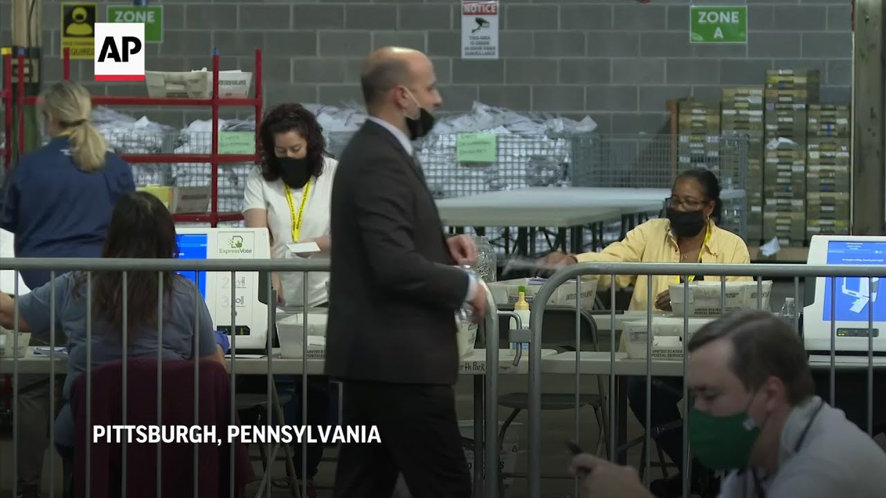 Pa. county begins next phase of ballot counting