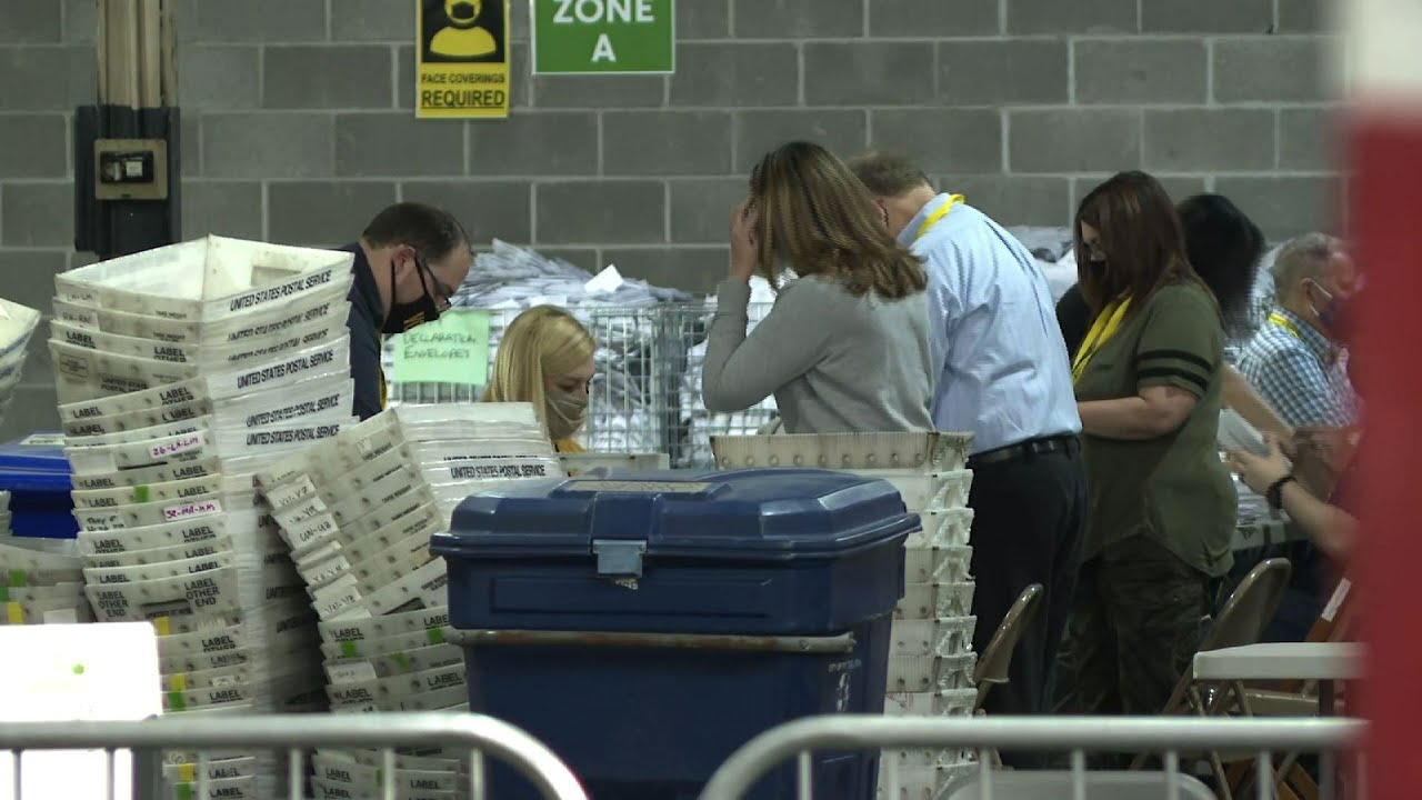 Polling workers continue counting in Pennsylvania