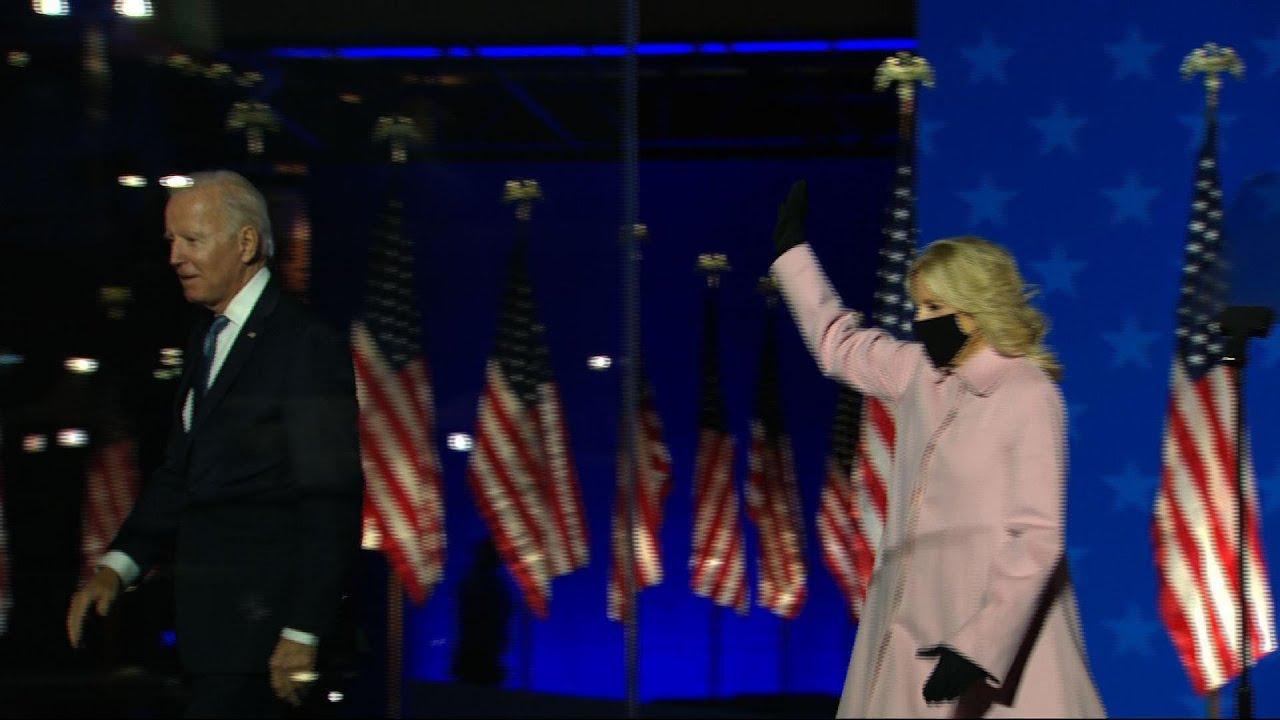Biden wins White House, vows new tone for nation
