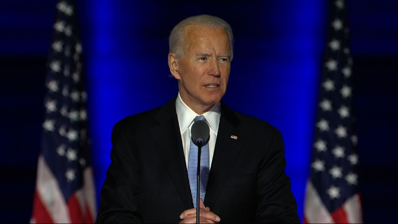 President-elect Biden appeals to Trump supporters