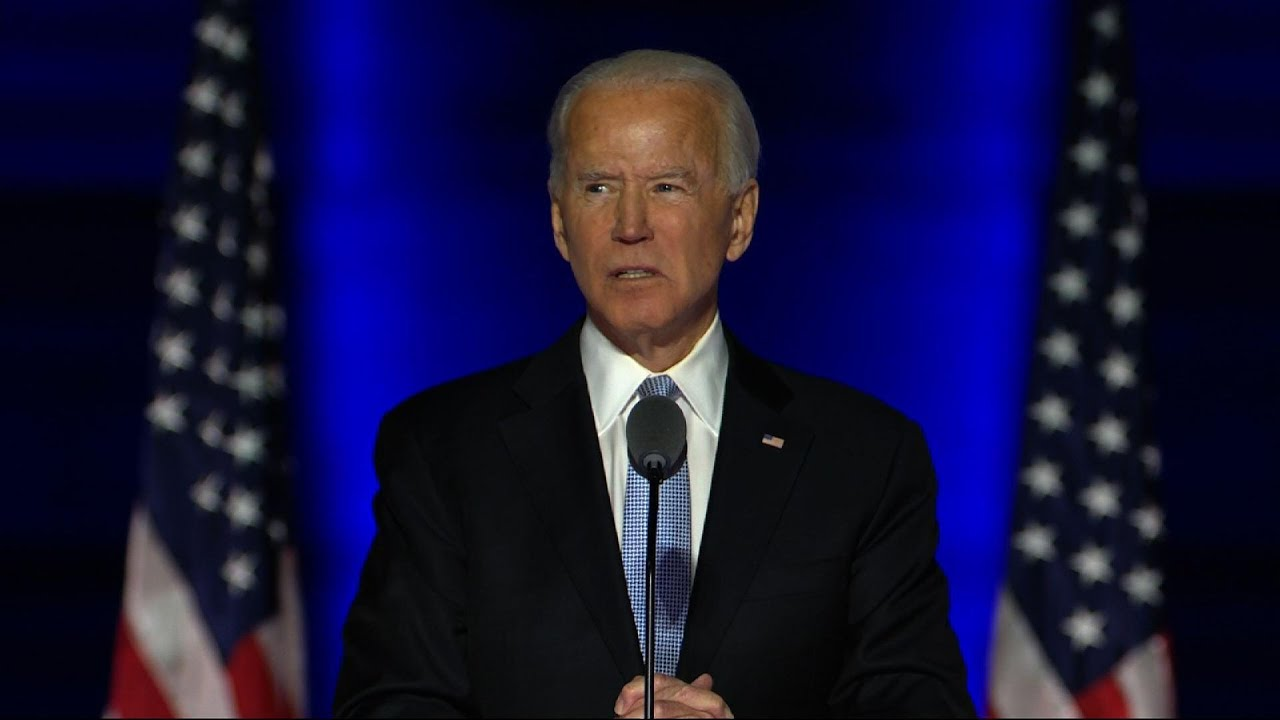 Biden: 'Let us be the nation we know we can be'