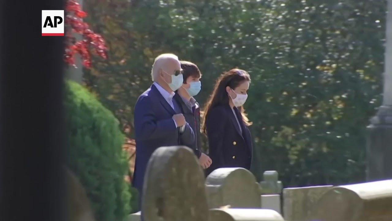 President-elect Joe Biden attends Sunday Mass