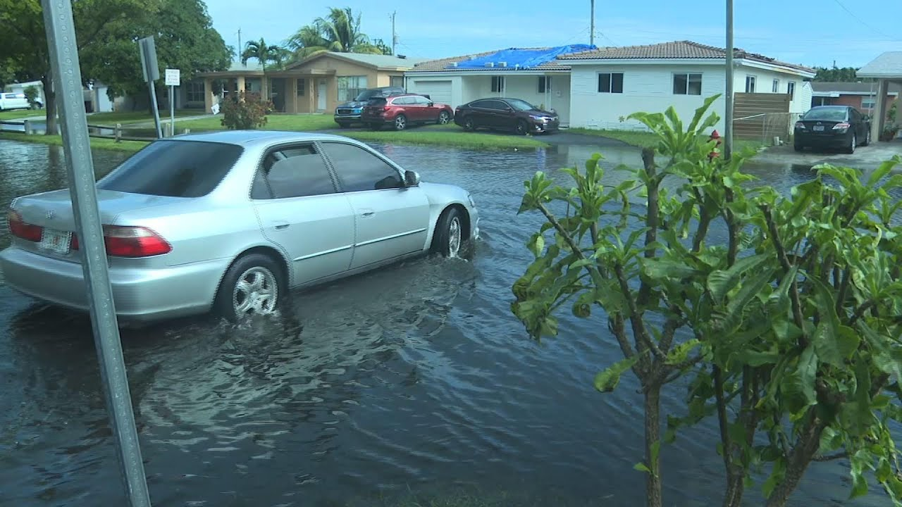 Tropical Storm Eta dumps rain in Fort Lauderdale