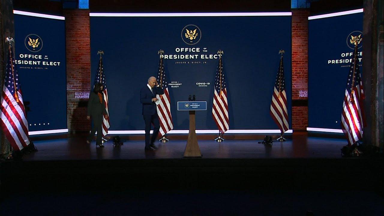 Biden to Americans: It's not political, wear a mask
