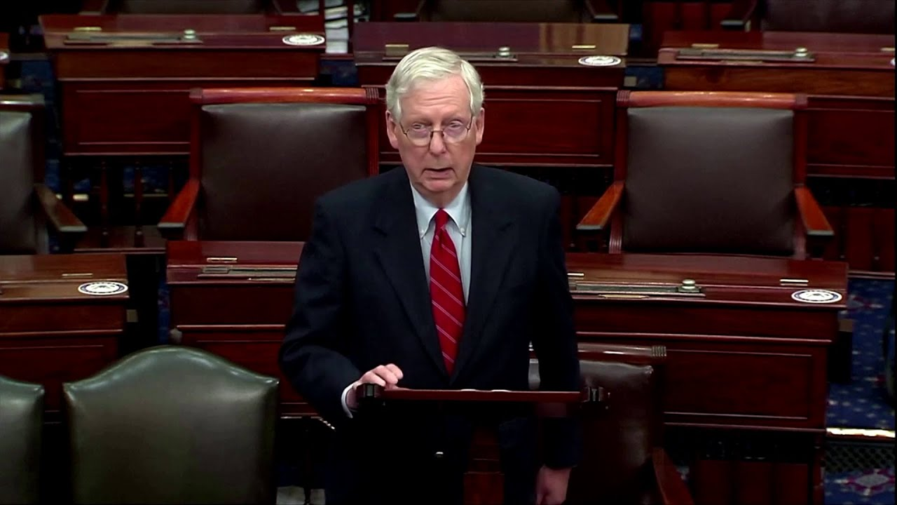 McConnell backs Trump's election legal fight