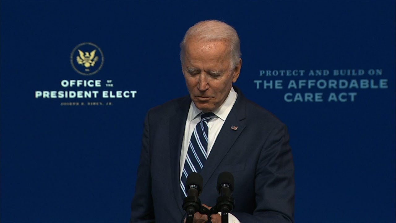 Biden says transition will move on, despite Trump
