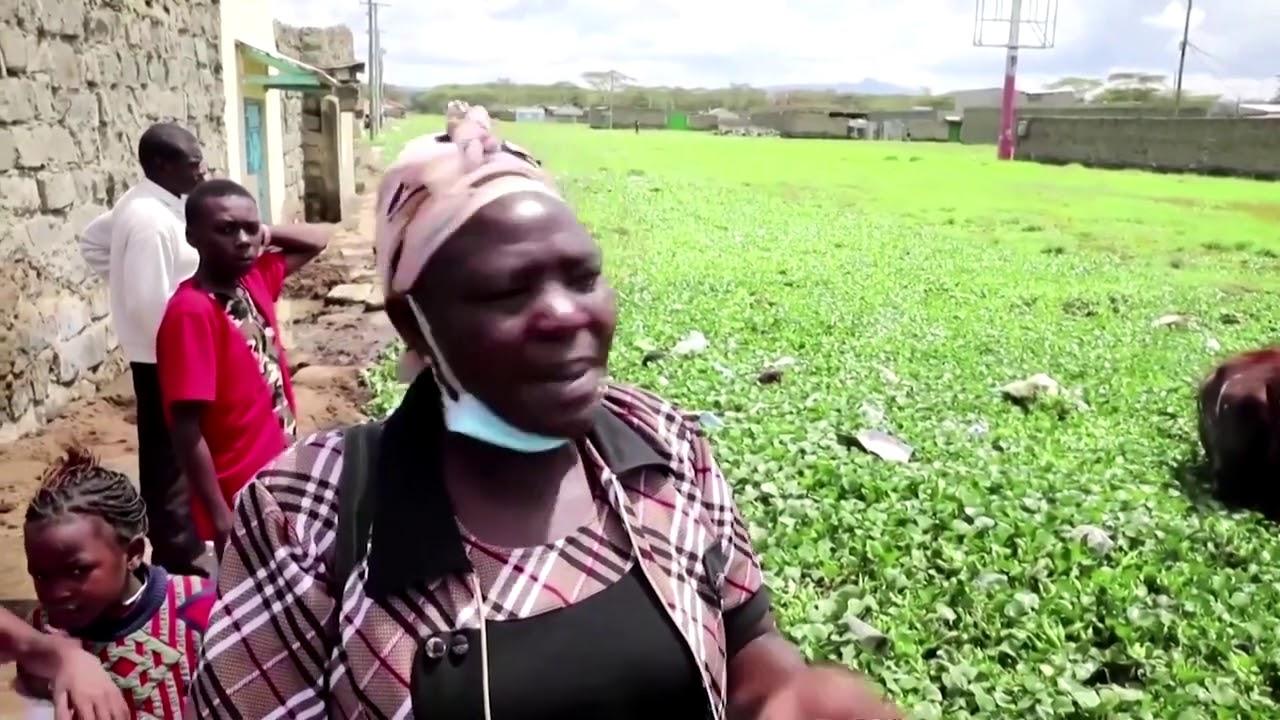 Floods threaten Kenyan village