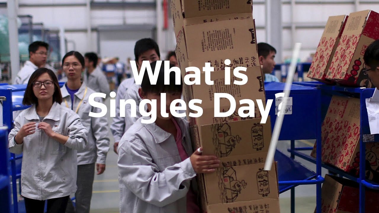 A look at China's Singles Day