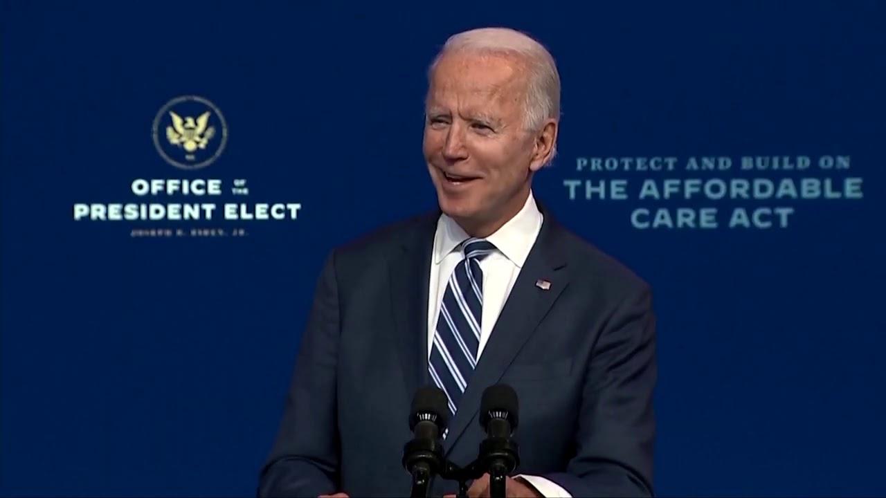 Biden says Trump's refusal to concede is an 'embarrassment'