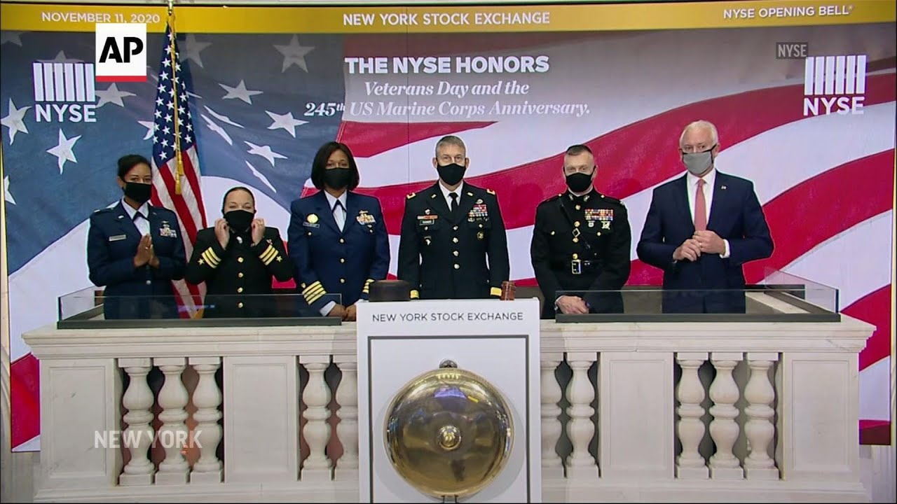 U.S. markets honor vets on Veterans Day