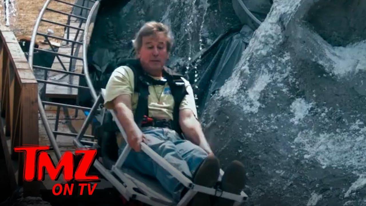 CA Man Recreates Disneyland Matterhorn Roller Coaster in Backyard | TMZ TV